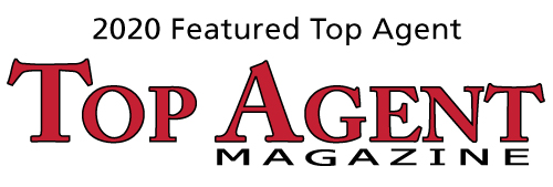 Proud to be a 2020 Featured Top Agent in Top Agent Magazine
