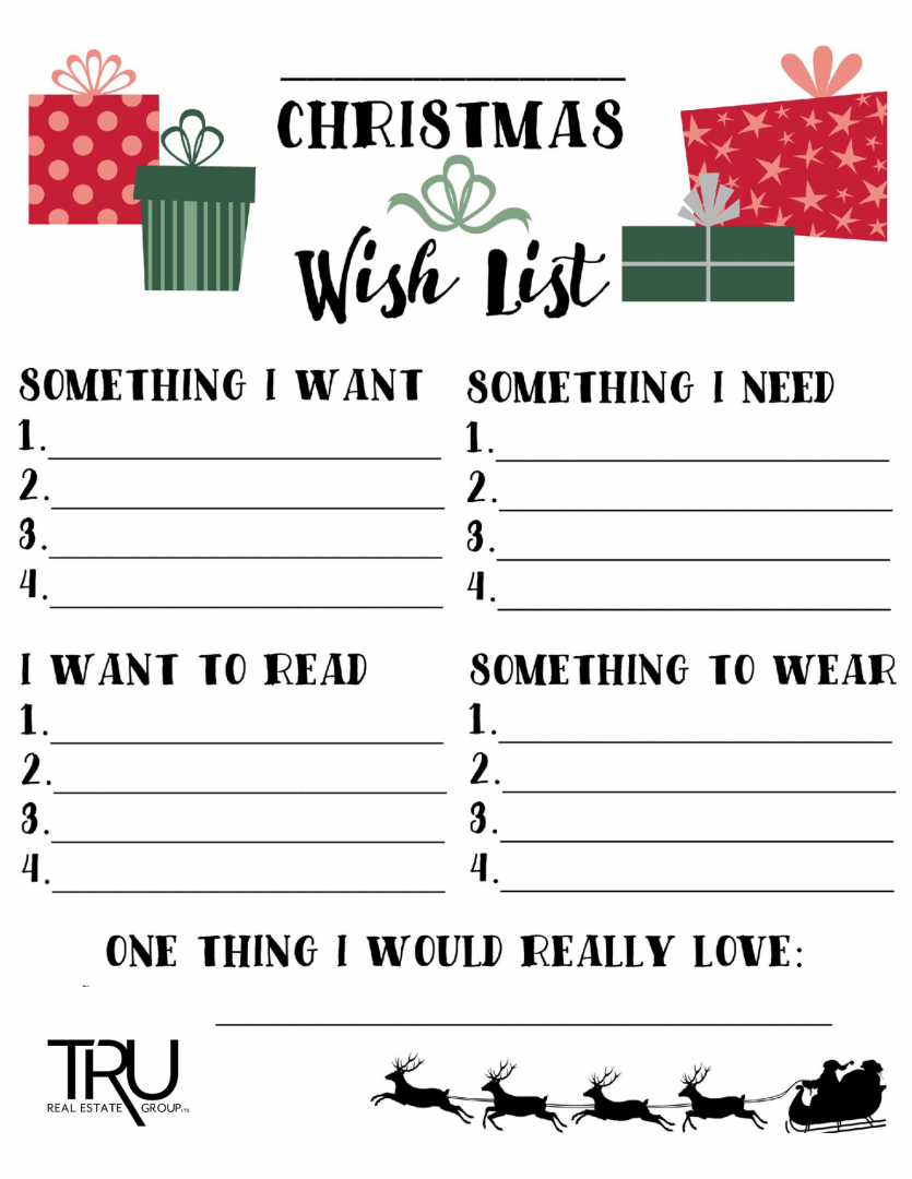 TRU Christmas Wish List
